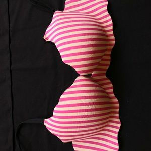 Victoria Secret striped bra 36c new